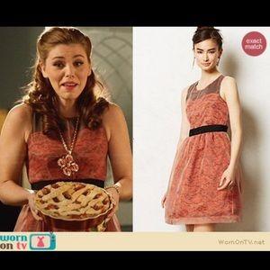 Anthro Lili wang for Lili's closet lace dress 1463